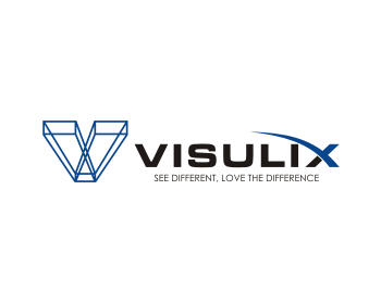 Visulix logo design