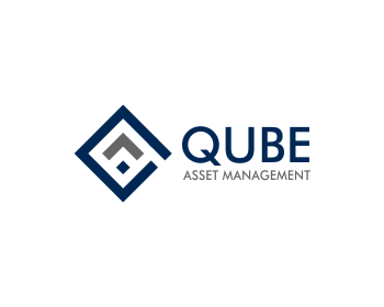 Qube Asset Management logo design