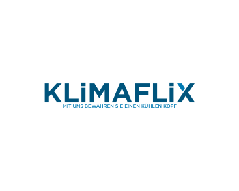 logo design for klimaflix