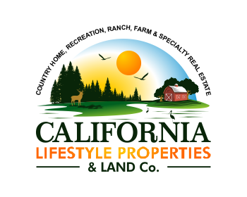 California Lifestyle Properties & Land Co. logo design
