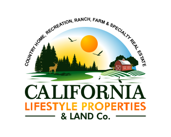 Logo design for California Lifestyle Properties & Land Co.