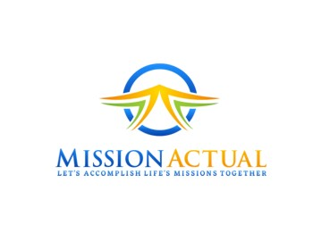 Mission Actual logo design