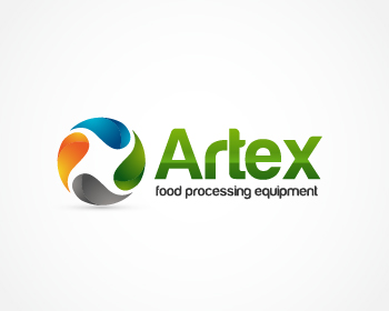 Artex food processing equipment logo design