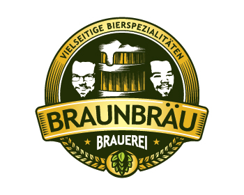 Logo design for Braunbräu