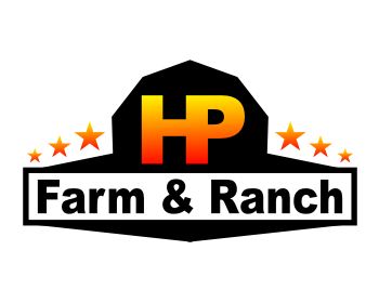 HP Farm & Ranch logo design