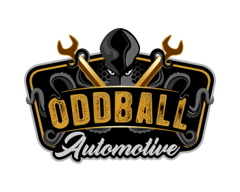 Oddball Automotive logo design