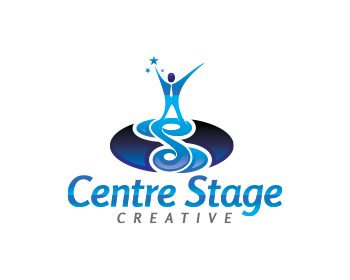 Centre Stage Creative logo design