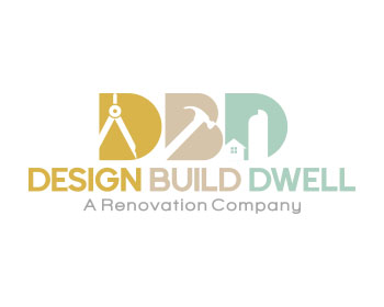 Logo design for Design/Build/Dwell  or Design.Build.Dwell. or Design Build Dwell