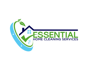 Logo design for Essential home cleaning services