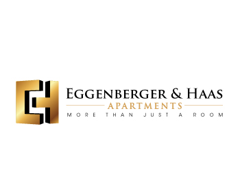 Restaurant logo design for Eggenberger & Haas Apartments