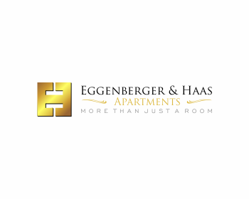 Eggenberger & Haas Apartments logo design