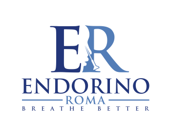 EndoRinoRoma logo design