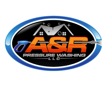 Service Industries logo design for A&R PRESSURE WASHING, LLC