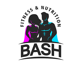 BASH Fitness & Nutrition logo design