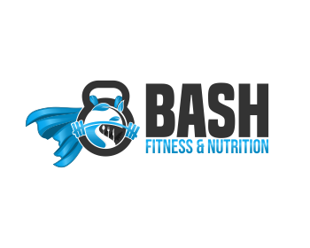 Logo design for BASH Fitness & Nutrition