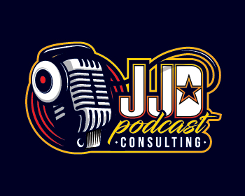 Logo design for JJD Podcast Consulting