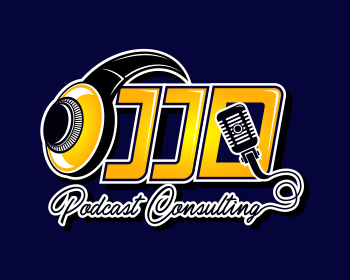 JJD Podcast Consulting logo design