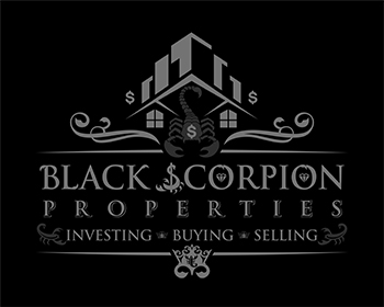 Real Estate logo design for Black scorpion properties