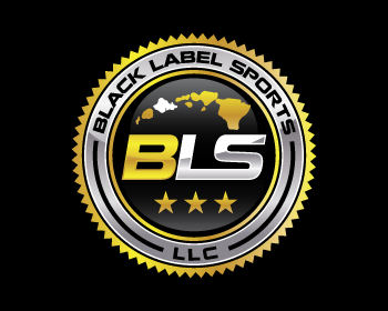 Black Label Sports LLC logo design