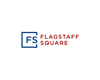 Flagstaff Square logo design