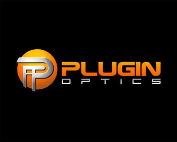 Plugin Optics logo design