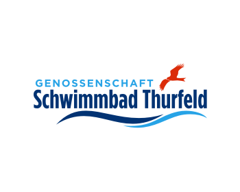 Sports & Recreation logo design for Genossenschaft Schwimmbad Thurfeld