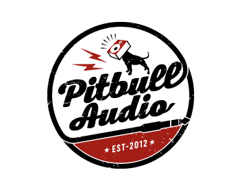 Logo design for Pitbull Audio