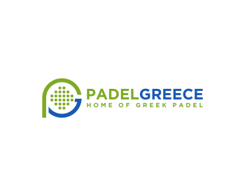 Logo design for Padel Greece