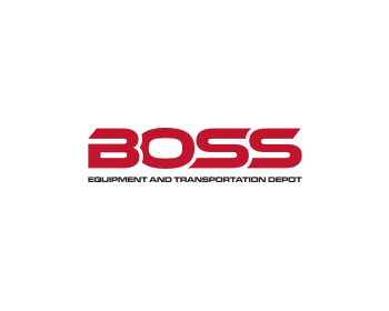 Boss Equipment and Transportation Depot logo design