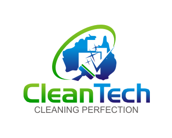 CleanTech logo design