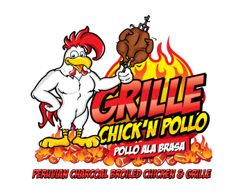 Logo design for Grille Chick'n Pollo