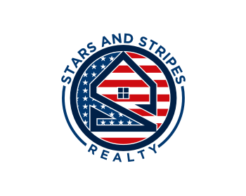 Logo design for Stars and Stripes Realty