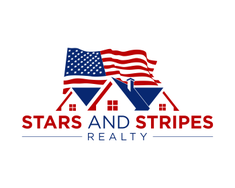 Stars and Stripes Realty logo design