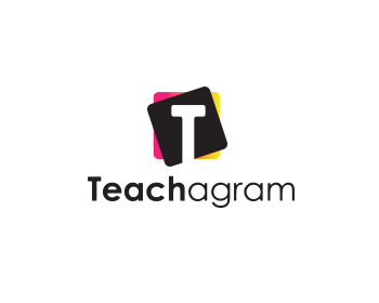 Teachagram logo design