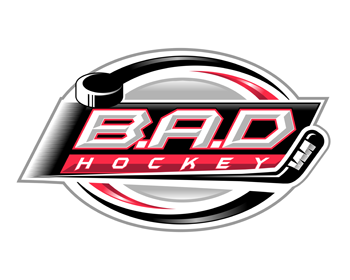 B.A.D Hockey logo design