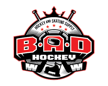 Logo design for B.A.D Hockey