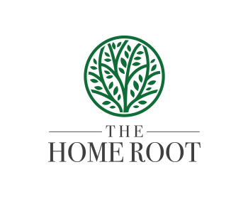 The Home Root logo design