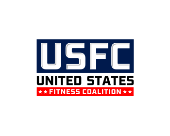 United States Fitness Coalition logo design