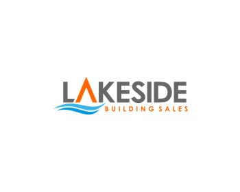 Lakeside Building Sales logo design