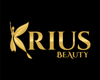Beauty logo design for KRIUS