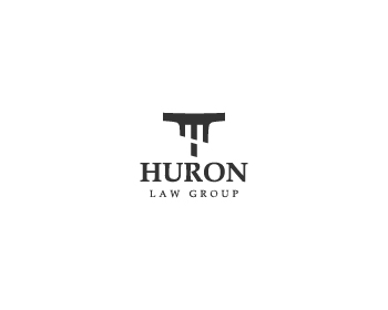 Huron Law Group logo design