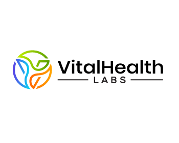 Vital Health Labs logo design