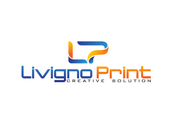 Service Industries logo design for Livigno Print