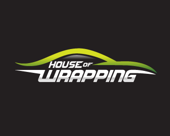 House of Wrapping logo design