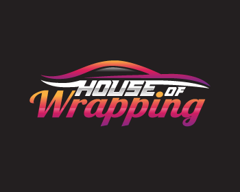 Logo design for House of Wrapping