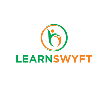 LearnSwyft logo design