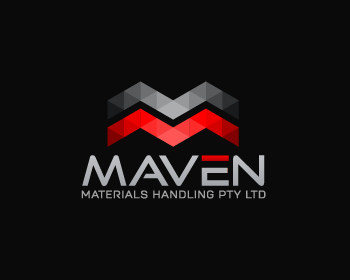 Maven Materials Handling Pty Ltd logo design