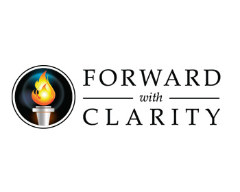 Forward With Clarity logo design