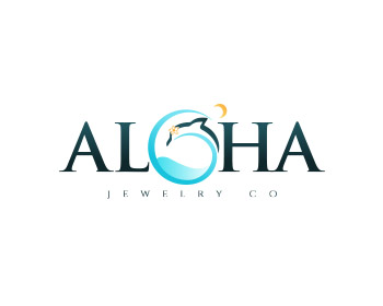 Aloha Jewelry Co. logo design