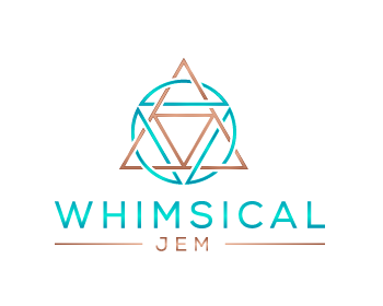 Whimsical Jem logo design